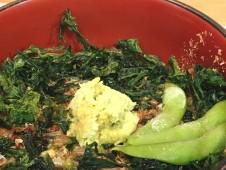 いちばのランチセット 西伊豆町名物 わさび丼&鯛だしスープ