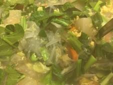 地域と畑の見えるいちばのランチ  野菜がたっぷりのフォー風 春雨