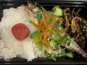 月間ご当地食堂 日替りは大洲アマゴの生姜たっぷり味噌煮
