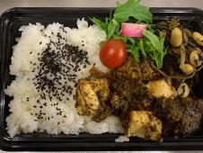 月間ご当地食堂  日替りはいちばのたっぷり麻婆豆腐