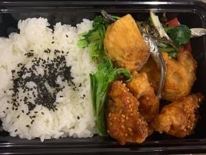 月間ご当地食堂 日替りは鶏の唐揚げ 四川風よだれ鶏ソース