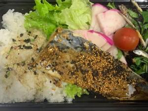 月間ご当地食堂 日替りは平戸鯖の胡麻味噌焼き