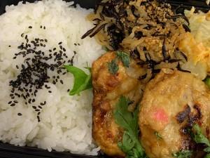 月間ご当地食堂 日替りは長崎県平戸 名物川内かまぼこ魚ハンバーグ