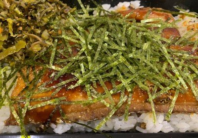月間ご当地食堂 日替りはくにさき名物 太刀魚の蒲焼き丼