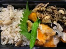 月間ご当地食堂  日替わりはいちばの唐揚げ 宮崎県都農ひゅうが辛子マヨソース 揚げ野菜添え