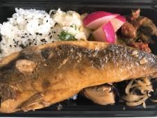 月間ご当地食堂  日替わりは北海道鹿部町直送‼️ 漁師風生ほっけ煮付け
