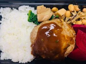 月間ご当地食堂 日替りは二戸佐助豚ハンバーグ