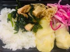 月間ご当地食堂  日替りは東三河 田原市キャベツのふわふわ豆腐団子のロールキャベツ