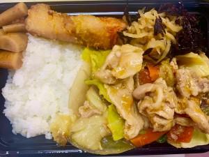 月間ご当地食堂 日替りは産直野菜とお肉たっぷり いちばの肉野菜炒め和風あんかけ