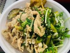 月間ご当地食堂 日替りは加須香り豚の豚丼