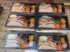 月間ご当地食堂 加須のうまいもんぎっしりランチ3種