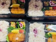 月間ご当地食堂 日替りは加須グルメ満載!香り豚とんかつのぜいたく弁当