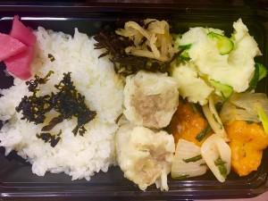 月間ご当地食堂 日替りは加須香り豚のシュウマイ