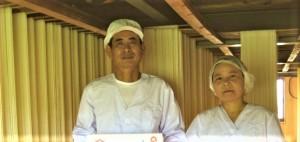 益田製麺さんご夫妻