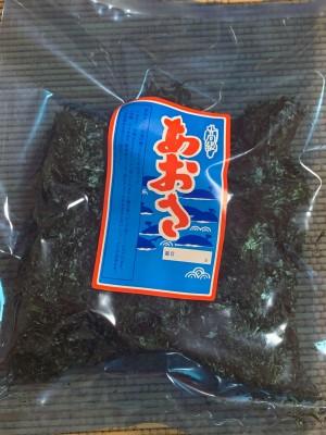 【高級あおさ30g】天草近海の磯で獲れたあおさの中でも上級品です。香り高く、多くのお客様を魅了している逸品です。