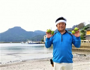 平戸夏香に熱い思いをかける善果園社長近藤重雄さん