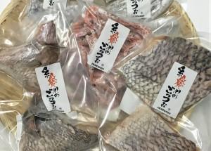【真鯛のカマ】春になると糸魚川では天然真鯛が多く水揚げされます。日本海の荒波にもまれた真鯛は身が引き締まり、旨味が凝縮されています。真鯛のハラスやカマは大変希少です。焼いたり、蒸したり、煮漬けたり。他では味わえない美味しさです!