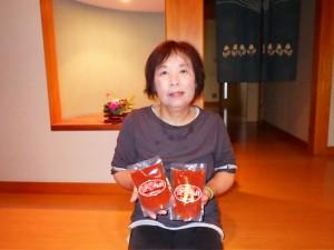 【トマトピューレ生産者】   愛菜会代表 南由美子さん