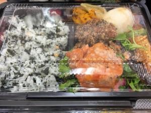 ご当地産直ランチ やわらか肉団子のトマト煮込み・焼魚弁当・日替り欲張り弁当