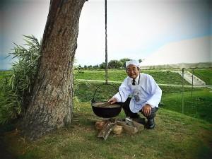 【中山町振興公社 西村雅之社長】 山形の芋煮を語り、そして作ることが出来る芋煮愛に溢れた方です。