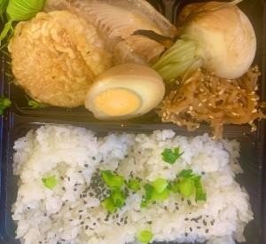 選べる焼き魚弁当(ほっけ,赤魚) 野菜天ぷらなど