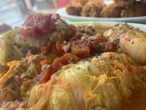 ロール白菜 トマト煮込み