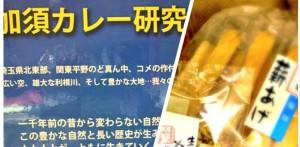 <3/24開催>ちよだいちばの新企画!「ちよだいちばご当地夜話」第一弾は加須カレー研究会