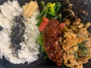 主菜が選べるいちばのご当地弁当 加須香り豚のタレカツ、しゅうまい、肉肉じゃがなど