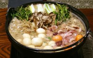 秋田県五城目町名物だまこ・きりたんぽ鍋、地酒セット