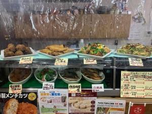 主菜が選べるいちばのご当地弁当 産直春野菜のスパニッシュオムレツ、割干し大根ところ厚揚げのお煮染めなど