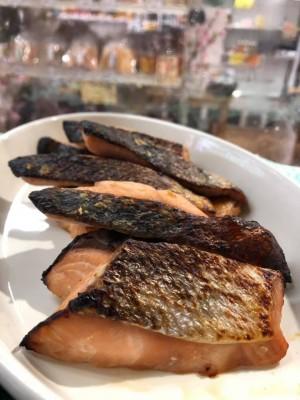 鮭の府中味噌漬け焼き