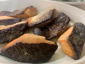 鮭の府中味噌焼き