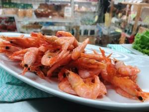 主菜が選べるいちばのご当地弁当 糸魚川名物 かまぼこメンチ、糸魚川 甘えび唐揚げなど